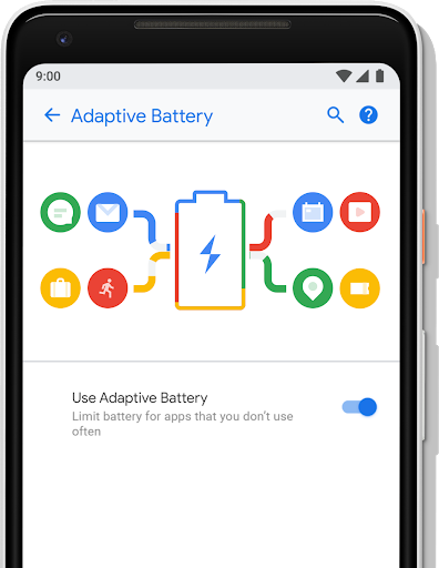 Android P Adaptive Battery