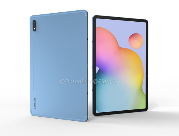 Renders Galaxy Tab S7