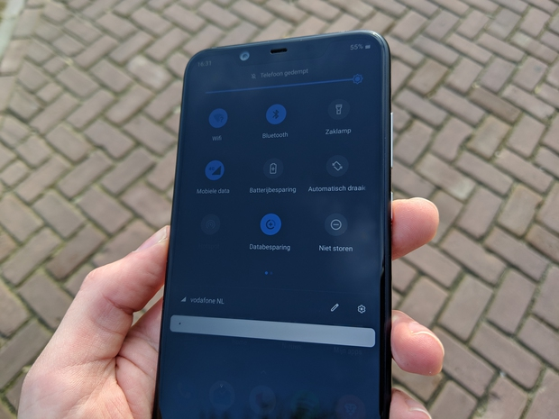 Nokia 8.1 Android One software