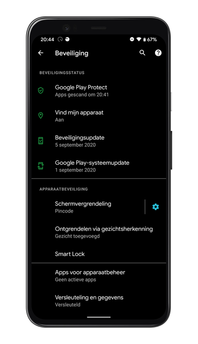 Android 11 Project Mainline Google Play systeemupdate