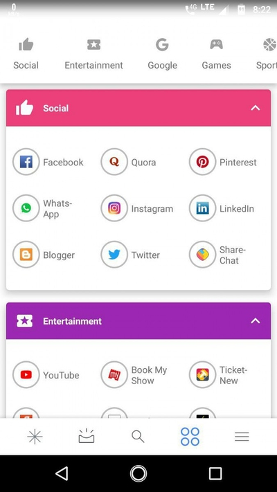 Top Apps Google Feed