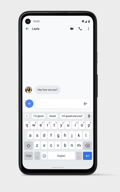 Android 11 Smart Reply in Gboard