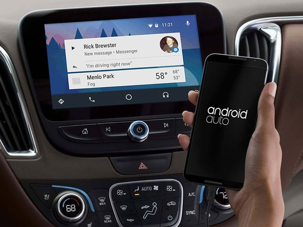 Android Auto Messenger