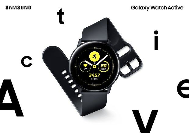 Foto's van de Galaxy Watch Active