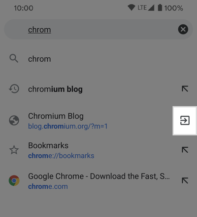 Chrome 85 voor Android