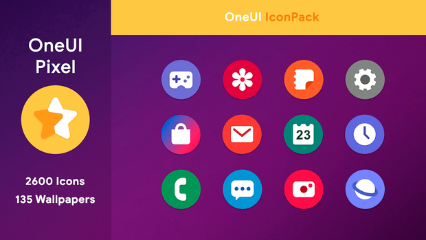 OneUI - Pixel Icon Pack