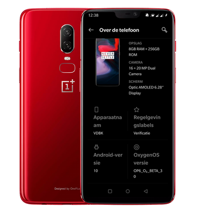 OnePlus 6(T) Android 10