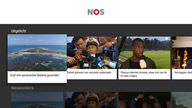 NOS - Android TV-app